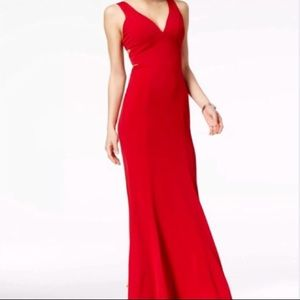 Crystal Doll Full Length Red Dress